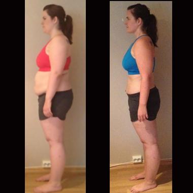 gå ned 10 kg på 8 uker