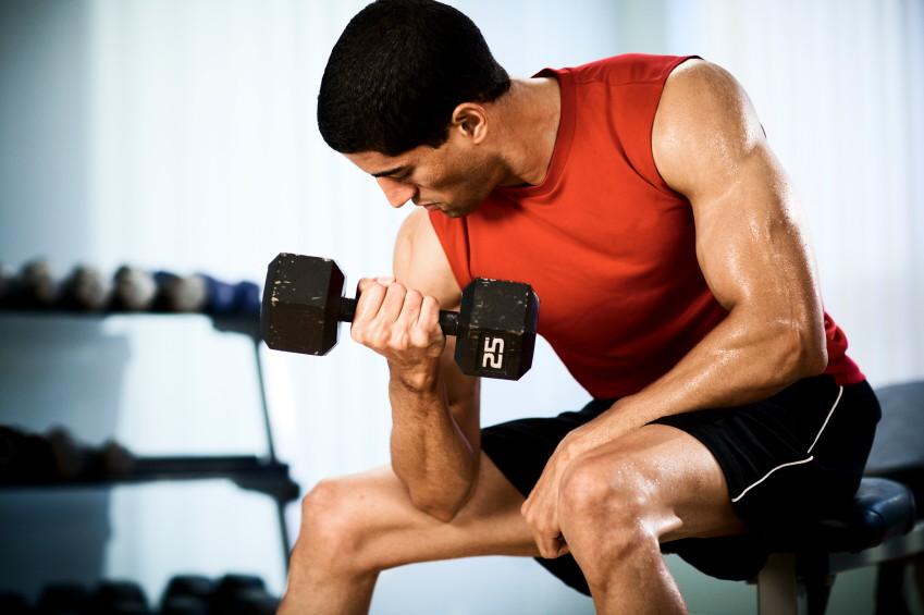 Normal muskelmassa i kroppen