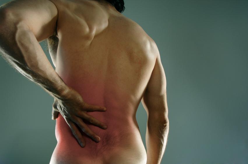 vondt i ryggen etter trening