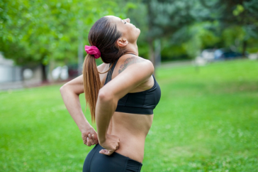 low back pain during sports activity