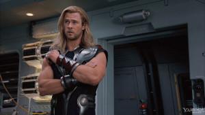 Chris Hemsworth as Thor v2
