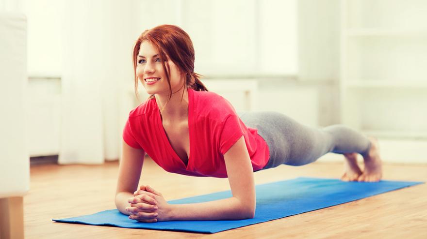 Effektiv trening hjemme