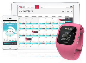Sammen med A300 får du et godt analyseprogram til laptop og en motiverende app til smarttelefonen.