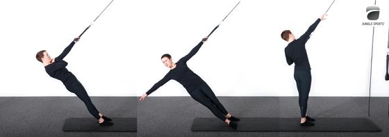 En-hånds-roing-med-rotasjon