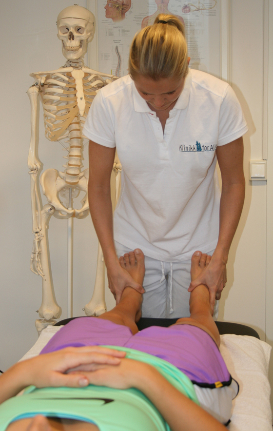 Osteopat Tine Oppedal, Kiropraktor Siri Johansen.