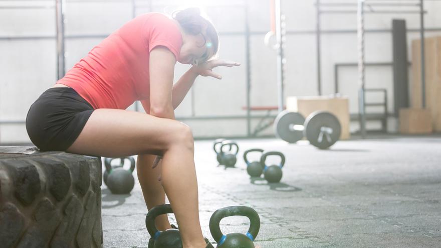 gå fort trening