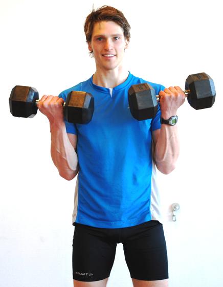 styrkeovelser armer med manualer