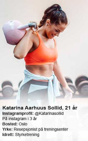 Katarina Sollid faktaboks