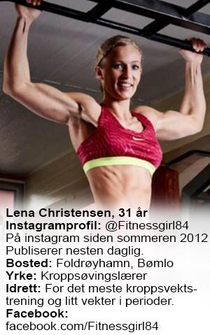 Faktaboks @fitnessgirl84