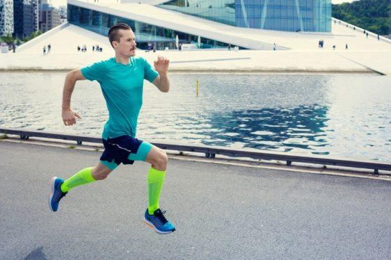 Henrik Ingebrigtsen in Oslo, Norway. Foto: Kyrre Lien / Nike